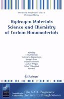 Cover image for Hydrogen Materials Science and Chemistry of Carbon Nanomaterials