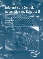 Cover image for Informatics in control, automation and robotics II