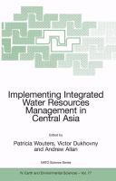 Cover image for Implementing Integrated Water Resources Management in Central Asia