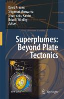 Cover image for Superplumes: Beyond Plate Tectonics