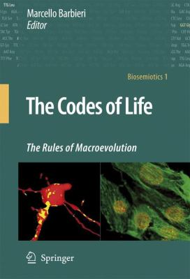 Cover image for The codes of life : the rules of macroevolution