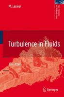 Cover image for Turbulence in fluids