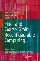 Cover image for Fine- and Coarse-Grain Reconfigurable Computing