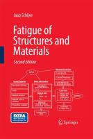 Cover image for Fatigue of structures and materials