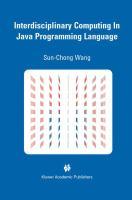 Cover image for Interdisciplinary computing in java programming language