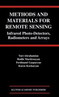 Cover image for Methods and materials for remote sensing : infrared photo-detectors, radiometers, and arrays