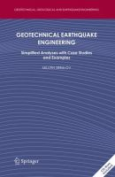 Cover image for Geotechnical earthquake engineering : simplified analyses with case studies and examples