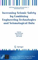 Cover image for IIncreasing seismic safety by combining engineering technologies and seismological data