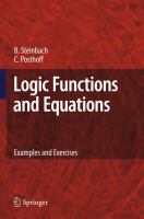 Cover image for Logic functions and equations : examples and exercises