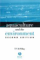 Cover image for Aquaculture and the environment