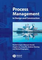 Cover image for Process management in design and construction