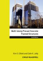 Cover image for Multi-storey precast concrete framed structures