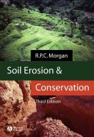 Cover image for Soil erosion and conservation