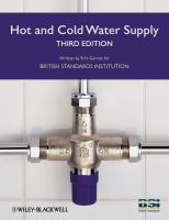 Cover image for Hot and cold water supply