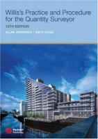 Cover image for Willis's practice and procedure for the quantity surveyor
