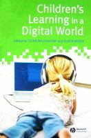 Cover image for Children's learning in a digital world