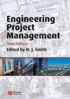Cover image for Engineering project management