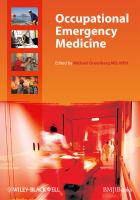 Cover image for Occupational emergency medicine