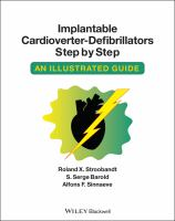 Cover image for Implantable cardioverter-defibrillators step by step : an illustrated guide