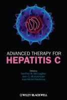 Cover image for Advanced therapy for hepatitis C