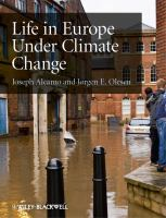 Cover image for Life in Europe under climate change