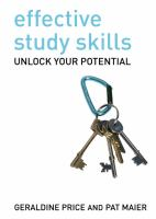 Cover image for Effective study skills