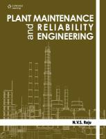 Cover image for Plant maintenance and reliability engineering