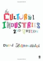 Cover image for The cultural industries
