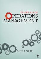 Cover image for Essentials of operations management