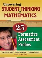 Cover image for Uncovering student thinking in mathematics : 25 formative assessment probes