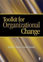 Cover image for Toolkit for organizational change