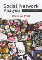 Cover image for Social network analysis : history, theory & methodology