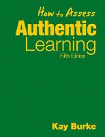 Cover image for How to assess authentic learning