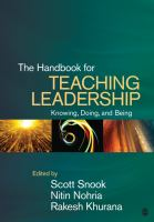 Cover image for The handbook for teaching leadership : knowing, doing, and being