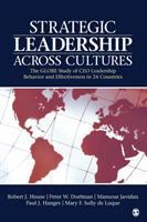 Cover image for Strategic leadership across cultures : the GLOBE study of CEO leadership behavior and effectiveness in 24 countries
