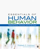 Cover image for Essentials of human behavior : integrating person, environment, and the life course
