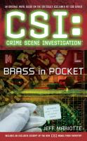 Cover image for CSI: crime scene investigation : brass in pocket