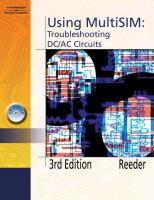 Cover image for Using multiSIM troubleshooting DC/AC circuits