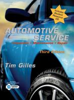 Cover image for Automotive service : inspection, maintenance, repair