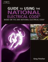 Cover image for Guide to using the National Electrical Code (NEC)