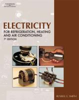 Cover image for Electricity for refrigeration, heating, and air conditioning