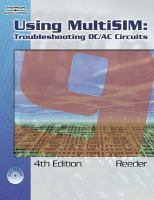 Cover image for Using MultiSIM : troubleshooting DC/AC circuits
