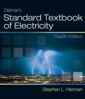 Cover image for Delmar's standard textbook of electricity
