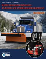 Cover image for Modern diesel technology : mobile equipment hydraulics : a systems and troubleshooting approach