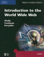 Cover image for Introduction to the world wide web