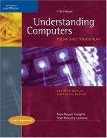 Cover image for Understanding computers : today and tomorrow