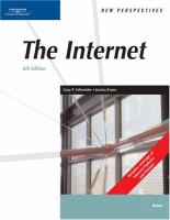 Cover image for New perspectives on the internet : brief