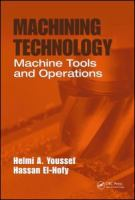 Cover image for Machining technology : machine tools and operations
