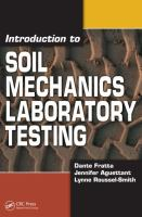 Cover image for Introduction to soil mechanics laboratory testing