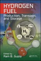 Cover image for Hydrogen fuel : production, transport, and storage